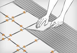come effettuare posa piastrelle