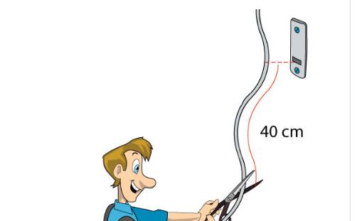 tagliare a misura la cinta tapparella