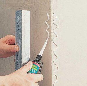 come installare paraspigoli muro 1